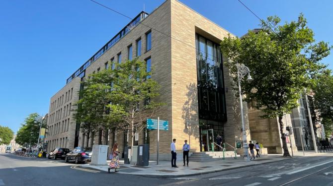 Photograph of DLA Piper's new office at 40 Molesworth Street, Dublin