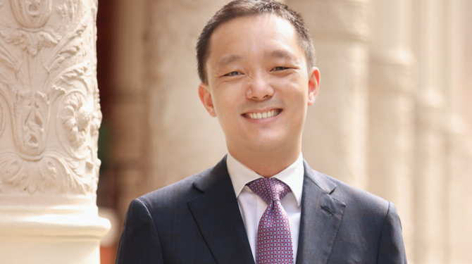 Portrait of Jern-Fei Ng QC