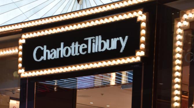 Charlotte Tilbury store at Dubai Mall in Dubai