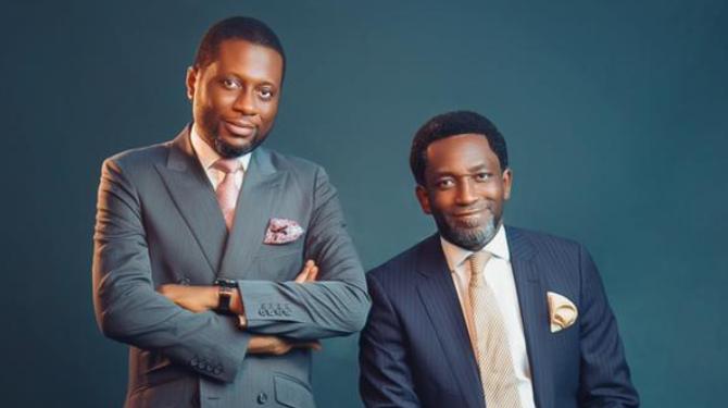 Image Dr Tominiyi Owolabi and Mr Wolemi Esan