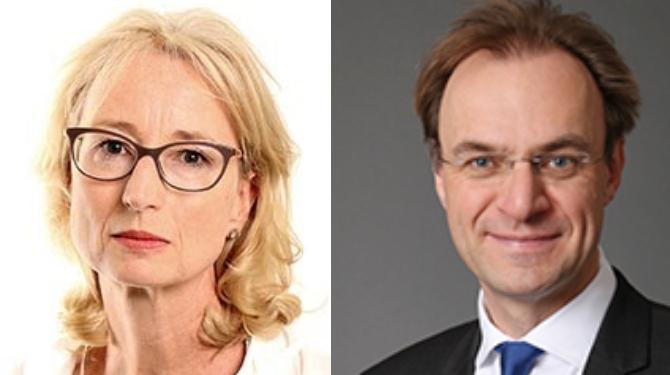 Helen Bradley and Matthew Dening