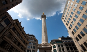 Monument in London: City firm launches revised business plan