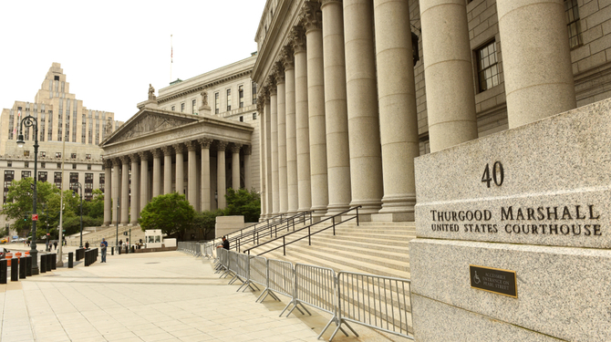 The Thurgood Marshall Courthouse