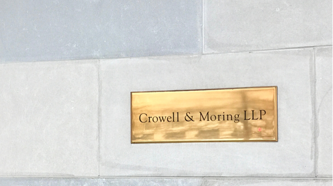 Crowell & Moring has opened an office in Singapore courtesy of its international policy and regulatory affairs consultancy arm, C&M International.