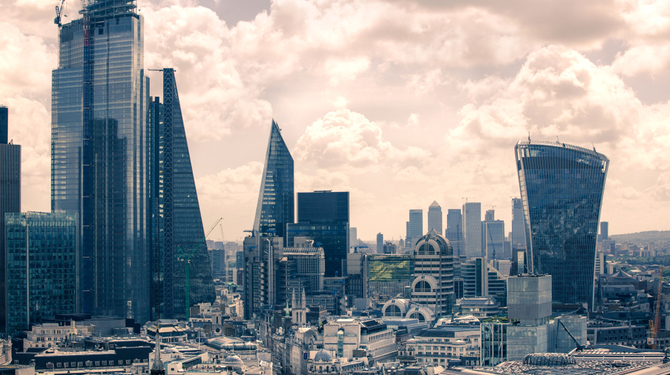 Pic of London skyline