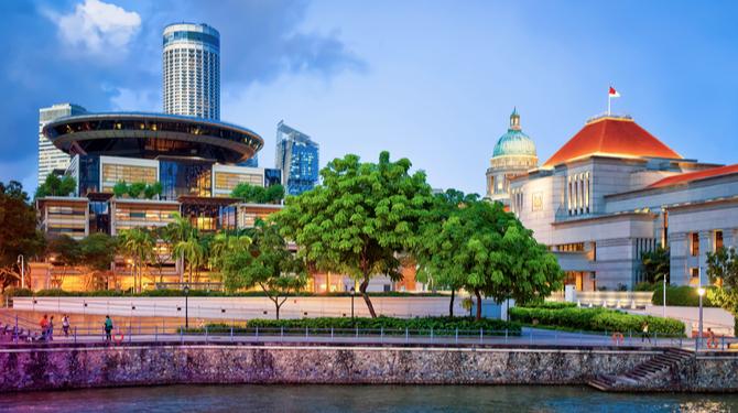 Singapore supreme court fake news law