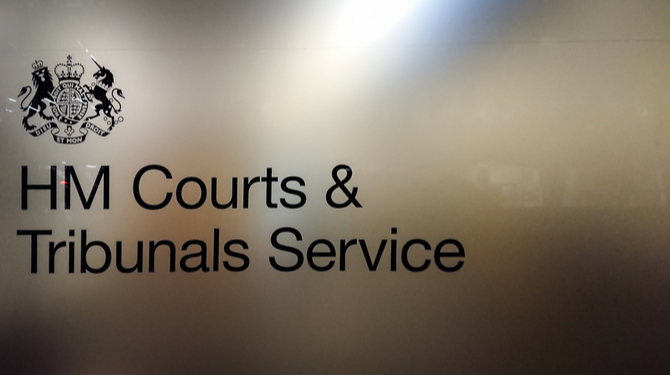 Pic of court and tribunal service logo