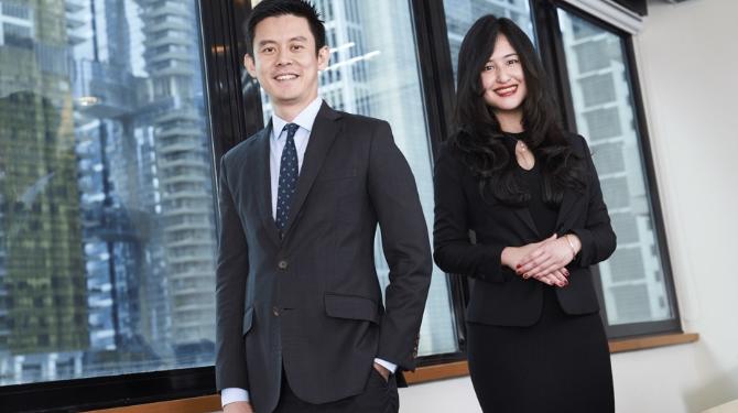 Ng Yi Wayn and Keith Han