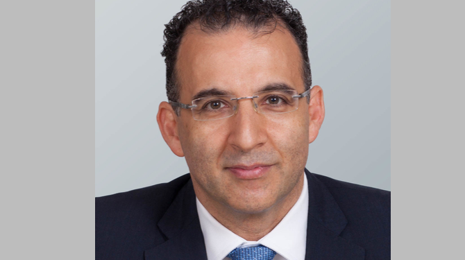 Portrait of Khalid Garousha